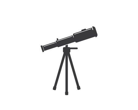 telescope icon vector illustration design