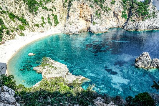 giali beach korfu