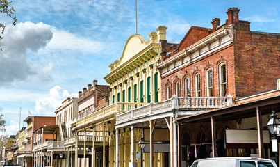 Old Sacramento Historic District in California