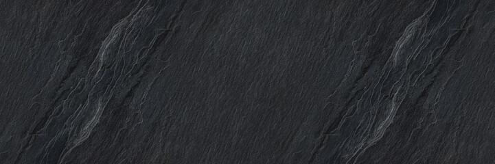 horizontal black stone texture for pattern and background Fotobehang