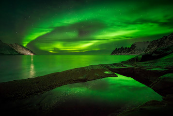 Aurora over Okshornan
