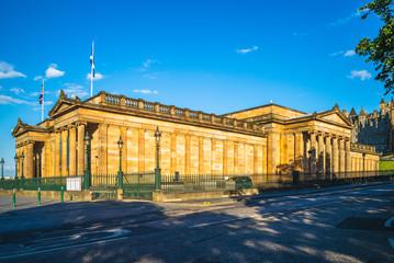 Royal Scottish Academy in edinburgh, uk
