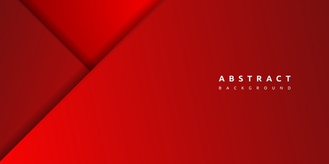 Abstract 3d red background with blank space of paper layer Fototapete