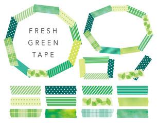 マスキングテープ新緑イメージ