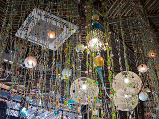 Various kinds of decorative lights for indoor decoration