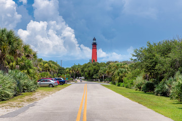 Road trip to Ponce Inlet Lighthouse, Daytona Beach, Florida.