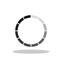 Loading / Download icon in trendy flat style. Vector Illustration EPS 10.