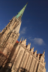 Mühlhausen (Thüringen); St. Marienkirche von Südosten