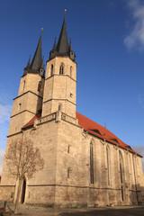 Mühlhausen (Thüringen); Jakobikirche, heute Stadtbibliothek