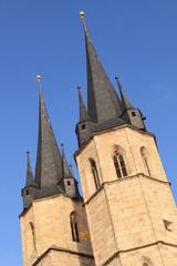 Turmpaar von St. Jacobi in Mühlhausen (Thüringen)