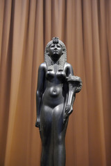 Saint Petersburg, Russia - June 14, 2016: Sculpture of Cleopatra in Hermitage Museum