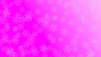 Stock photo Snow fall glowing pink background. High quality best stock abstract image of crystal snow flower falling on blue background. Good design elements, illustration, card, backdrop, creatives