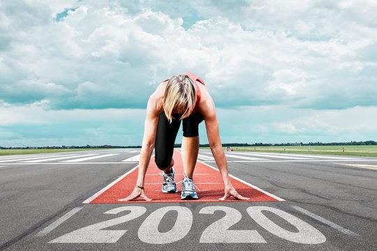 runner start runway 2020