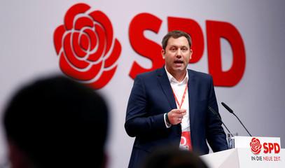 Social Democratic Party (SPD) meeting in Berlin