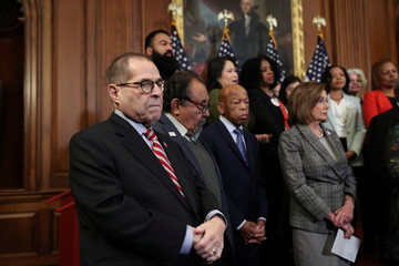 U.S. House Judiciary Committee Chairman Jerrold Nadler (D-NY) is seen at a news conference on Capitol Hill in Washington