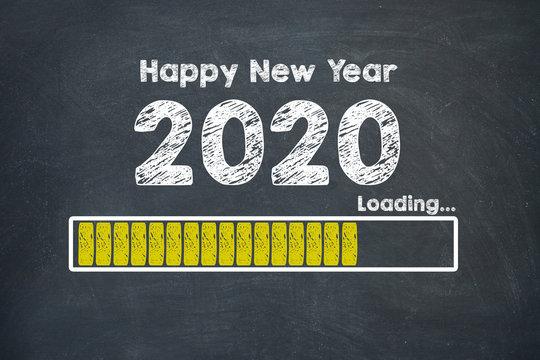 Loading New Year 2020 On Blackboard