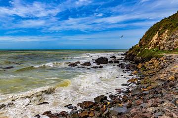 New Zealand, South Island. Oamaru coast