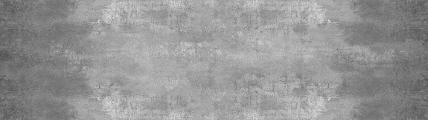 Poster Concrete Wallpaper Grey stone concrete texture background anthracite panorama banner long