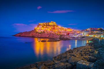 Beautiful photo of Castelsardo old cit, Sardinia, italy.