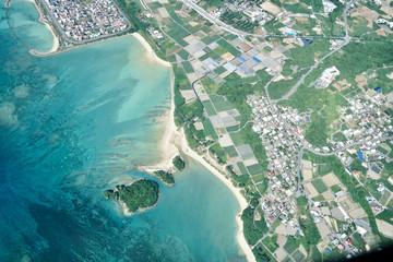 沖縄の航空写真