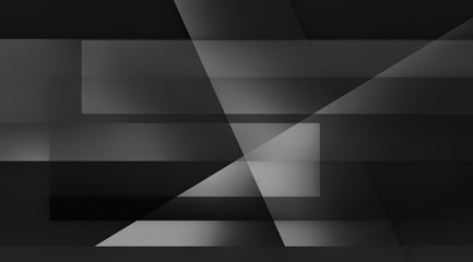 black and white abstract background design with stripes and triangle shapes in bold techno modern angles and lines
