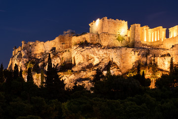 Athen / Akropolis Fototapete