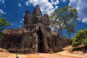 カンボジア・アンコール遺跡群の風景 1