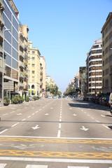 Fototapeten Australien Barcelona, Spain - september 29th, 2019: Barcelona, Spain - september 29th, 2019: Street in Barcelona