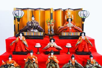Fotorollo Rot ひな人形 雛人形 桃の節句 日本文化 日本 雛祭り ひな祭り 3月 春 風物詩 年中行事