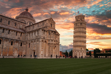 Papiers peints Toscane Leaning Tower of Pisa