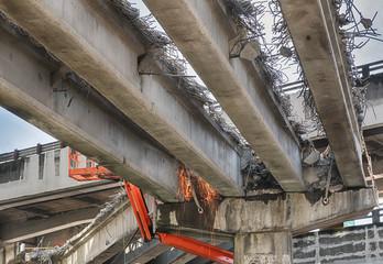 Tearing Down The Alaska Way Viaduct
