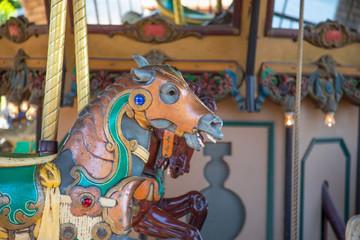 Details of Fairground Carousel Horse