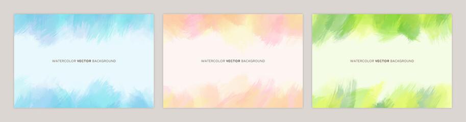 watercolor vetcor background