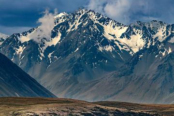 Southern Alps at Lake Takapo, New Zealand