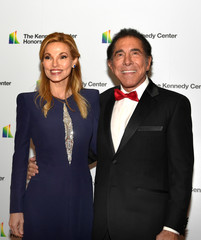 Steve Wynn arrives for gala at US State Department