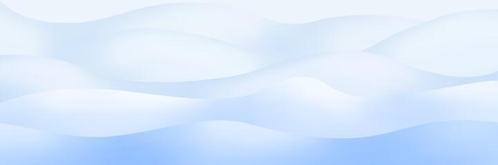 Türaufkleber Flugzeug Snowdrifts, panoramic image, vector illustration, EPS10