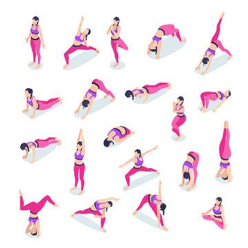 Fitness Yoga Woman Set