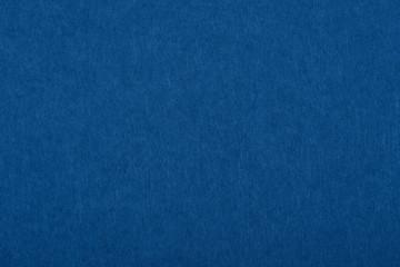 Dark classic blue felt background texture close up
