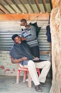 African barber shop