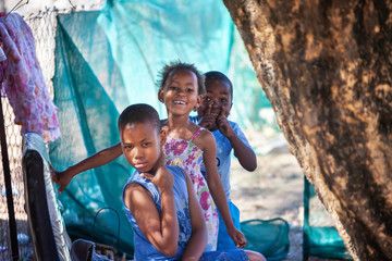 Daily African life Fototapete