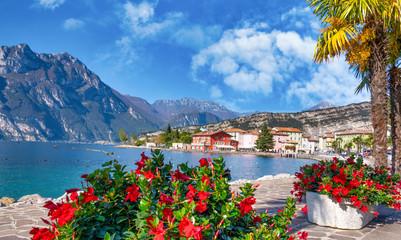 Aluminium Prints Mediterranean Europe Torbole, Lago die Garda, Italy
