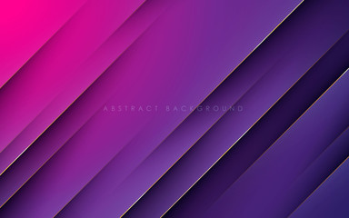 Modern texture purple and pink abstract background concept with gold line decoration Fototapete