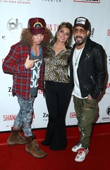Carrot Top, Shania Twain, AJ McLean at arrivals for Shania Twain Let's Go! The Las Vegas Residency