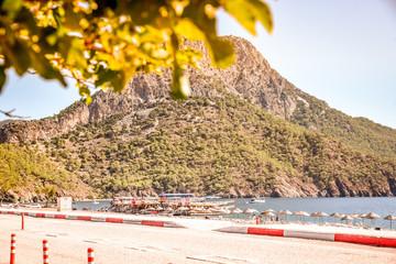 Foto op Canvas Meloen Turkey's most beautiful beaches, Kaputas and adrasan