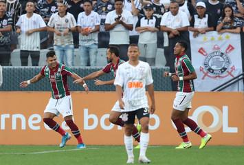 Brasileiro Championship - Corinthians v Fluminense