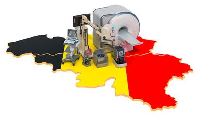 Medical diagnostic and research in Belgium, 3D rendering