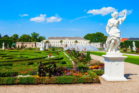 Herrenhausen Palace in Hannover, Germany