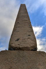 Cleopatra's Needle Obelisk - New York City