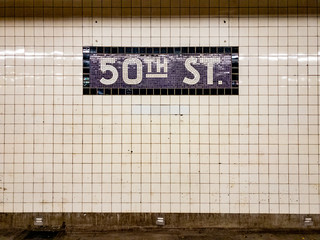 50th Street Subway Station - NYC