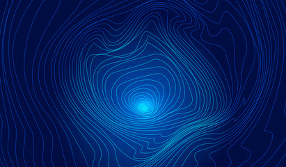 Luminous lines compose swirling abstract textured backgrounds